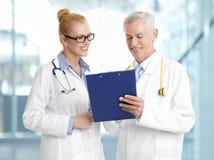 Gruppo medico Fotografia Stock