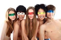 Gruppo Multi-ethnic Fotografia Stock Libera da Diritti