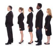 gruppo Multi-razziale di gente di affari Fotografie Stock