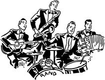 Gruppo musicale illustrazione vettoriale