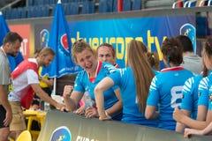 Gruppo nazionale russo di rugby del ` s delle donne Immagini Stock Libere da Diritti