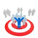 Gruppo-obiettivo Immagine Stock