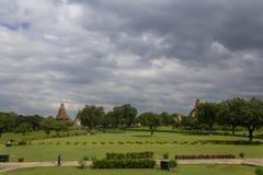 Gruppo occidentale di tempie, Khajuraho, Madhya Pradesh, India fotografie stock libere da diritti