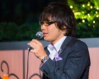 Gruppo permanente di vocals del pesce a Tokyo Immagini Stock Libere da Diritti