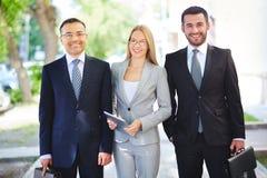 Gruppo professionale Immagine Stock