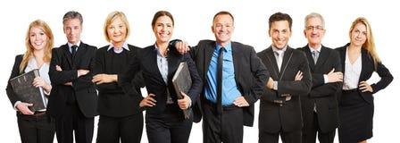Gruppo professionale dell'avvocato di affari Fotografie Stock Libere da Diritti