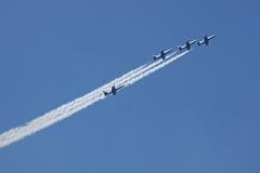 Gruppo Rus di volo Fotografia Stock Libera da Diritti