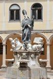 Gruppo scultoreo di San Benedetto Immagini Stock Libere da Diritti