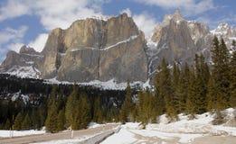 Gruppo Sella - Dolomit (Italien) Lizenzfreie Stockfotos