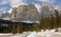Gruppo Sella - Dolomites (Italy) Royalty Free Stock Photos