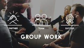Gruppo Team Work Organization Concept fotografie stock