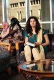 Gruppo vario di allievi femminili Immagine Stock Libera da Diritti