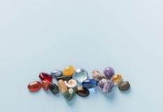 Gruppo variopinto delle gemme Fotografie Stock Libere da Diritti