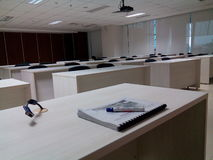 Grupprum för student Arkivbild