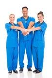 Gruppsjukvårdprofessionell royaltyfria foton