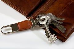 grupptangenter piskar plånboken Royaltyfria Foton