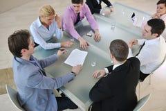 grupy biznesowej spotkania ludzie Fotografia Royalty Free