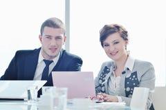 grupy biznesowej spotkania ludzie Obraz Royalty Free