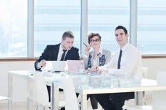 grupy biznesowej spotkania ludzie Obraz Stock