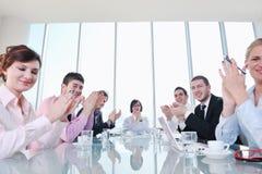 grupy biznesowej spotkania ludzie Obrazy Royalty Free