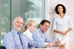 grupy biznesowej spotkanie fotografia stock