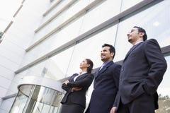 grupy ludzi na zewnątrz biurowe jednostek gospodarczych Zdjęcie Stock
