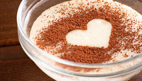 Grus med kakao Royaltyfri Fotografi