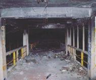 Gruselige Fabrik Stockfotografie