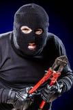 Gruseliger Einbrecher Lizenzfreies Stockfoto