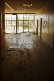 Gruseliger Raum Stockfotografie