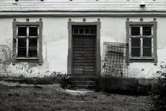Gruseliges Haus Stockbilder