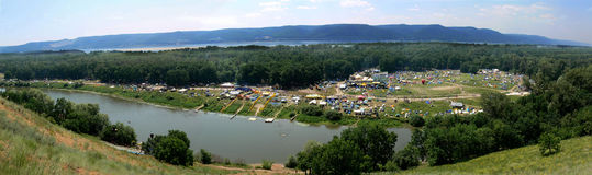 grushinskiy λίμνες φεστιβάλ mastrukov Στοκ φωτογραφία με δικαίωμα ελεύθερης χρήσης
