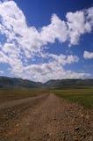 grusväg Arkivbild