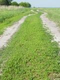 Grusväg Royaltyfri Bild