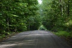 Grusväg i landet fotografering för bildbyråer