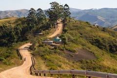 Grusväg - Kwazulu Natal Royaltyfria Bilder