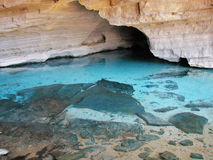Gruta Azul (Blue Cave) in Chapada Diamantina, Brazil. Stock Photography