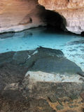 Gruta Azul (cueva azul) en Chapada Diamantina, el Brasil Imagen de archivo