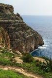 Gruta azul, Malta Imágenes de archivo libres de regalías