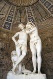 Gruta de Adam e de véspera, jardins de Bobili, Florença, Ilaly Imagens de Stock