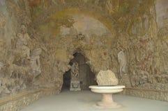 Gruta de Buontalenti, jardins de Boboli, Florença Imagens de Stock