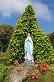 Gruta de Maria de Virgen Imagen de archivo