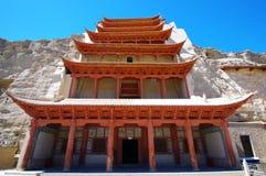 Gruta del MES Kao en Dunhuang Fotografía de archivo libre de regalías