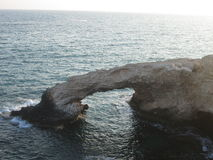 A gruta dos amantes Imagem de Stock