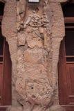 Grutas de Buda en Tianshui Maijishan siete templos en la puerta Fotos de archivo