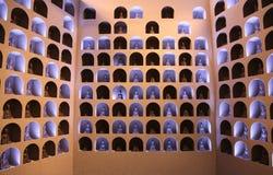 Grutas de Dunhuang Mogao fotos de archivo libres de regalías