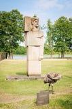 Grutas Park. Monument Zigmantas Antanas Angarietis. Lithuania Stock Photography