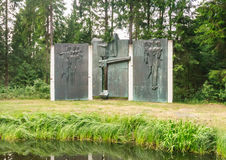 Grutas Park. The monuments of the Soviet period. Lithuania Stock Photography