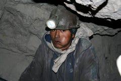 gruvarbetare royaltyfri foto