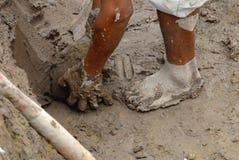 gruvarbetare peru Royaltyfri Bild